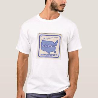 La camiseta del café de la frontera de
