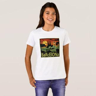 La camiseta del chica de Barcelona