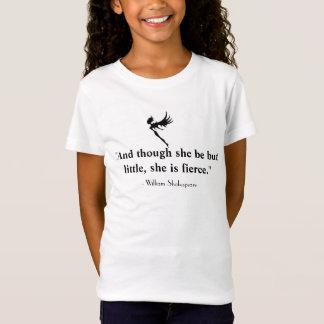 La camiseta del chica de hadas pequeño y feroz de