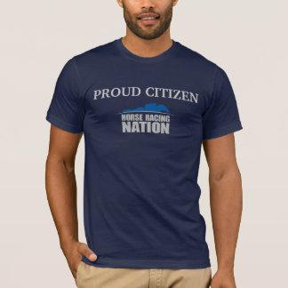 La camiseta del ciudadano de la carrera de