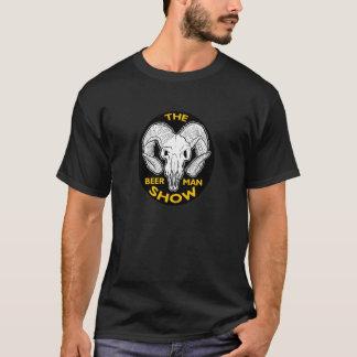 La camiseta del cráneo de la cabra de la