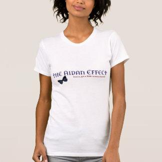La camiseta del efecto de Aidan