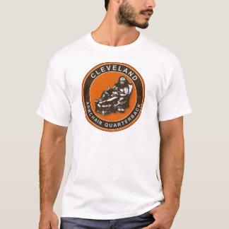 La camiseta del fútbol de la butaca QB Cleveland