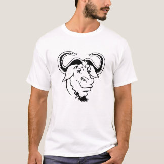 La camiseta del gángster del GNU