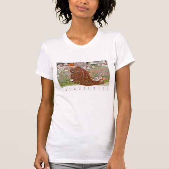 La camiseta del jardín de la amapola