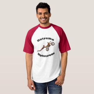La camiseta del motocrós de los hombres extremos