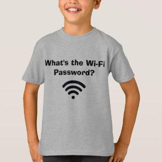 La camiseta del muchacho