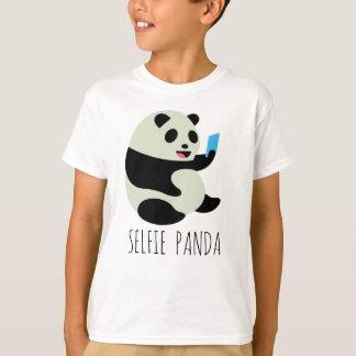 """La camiseta del muchacho: """"Panda de Selfie """""""