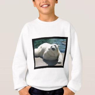 La camiseta del niño ártico del oso polar
