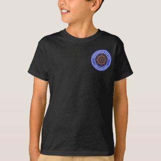 La camiseta del niño - club náutico bajo medio de