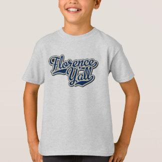 La camiseta del niño de Florencia usted
