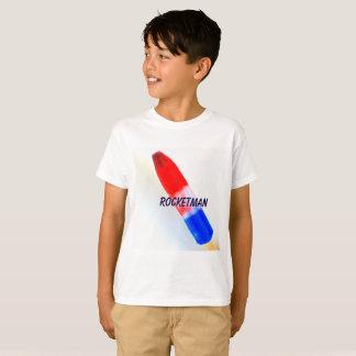 La camiseta del niño de Rocketman