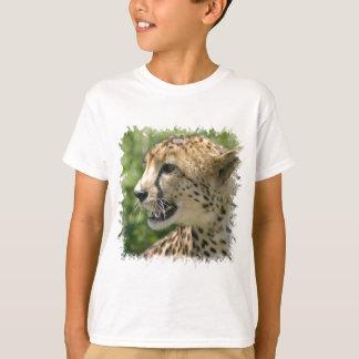 La camiseta del niño del ataque del guepardo