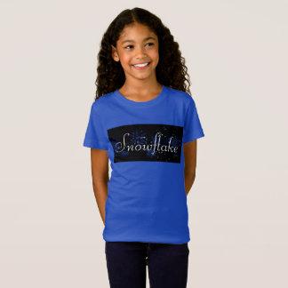 La camiseta del niño del copo de nieve