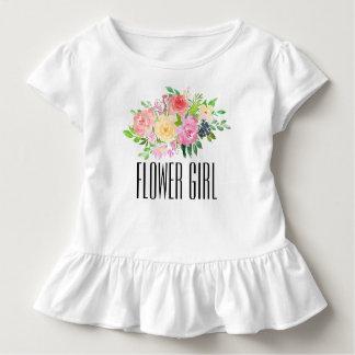 La camiseta del niño del florista embroma la
