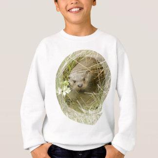 La camiseta del niño del hábitat de la nutria de