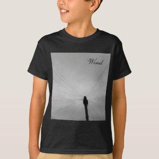 La camiseta del niño fresco