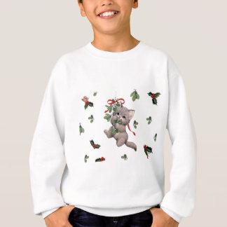 La camiseta del niño lindo del gatito