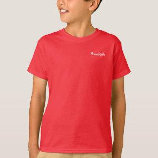 La camiseta del niño socializado