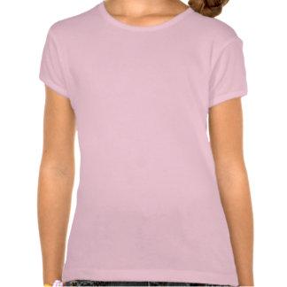 La camiseta del paisaje marino del arte del chica