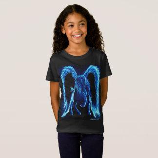 La camiseta del paseo del niño iluminado de Pegaso