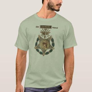 La camiseta del pelotón del honor (de color topo)
