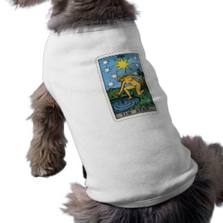 La camiseta del perro de la estrella