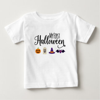 La camiseta del primer niño de Halloween