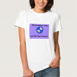 La camiseta del viajero del tiempo