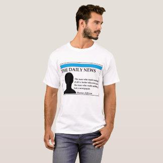 La camiseta diaria de las noticias