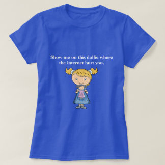 La camiseta divertida el | donde hizo el Internet