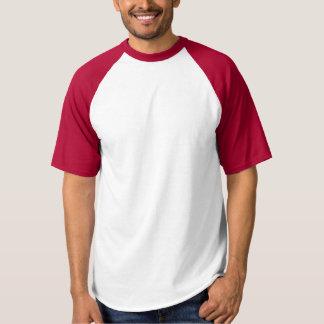La camiseta DIY del béisbol del raglán de los