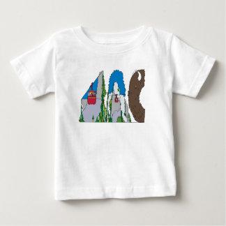 La camiseta el   JACKSON HOLE, WY (JAC) del bebé
