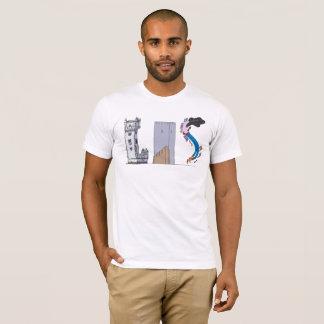 La camiseta el | LISBOA, pinta (LIS) de los