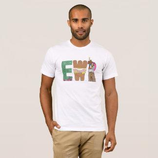 La camiseta el | NEWARK, NJ (EWR) de los hombres