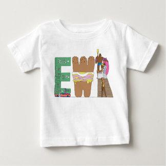 La camiseta el | NEWARK, NJ (EWR) del bebé