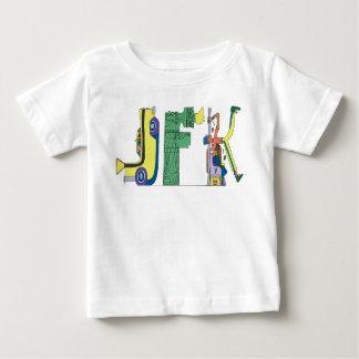 La camiseta el | NUEVA YORK, NY (JFK) del bebé