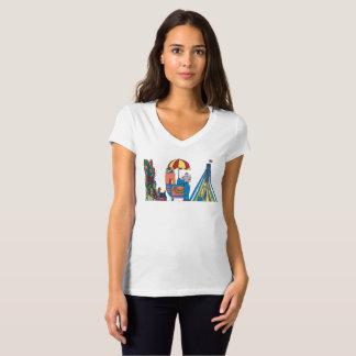 La camiseta el | NUEVA YORK, NY (LGA) de las