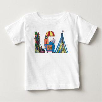 La camiseta el | NUEVA YORK, NY (LGA) del bebé