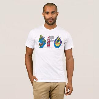 La camiseta el   SAN FRANCISCO, CA (SFO) de los