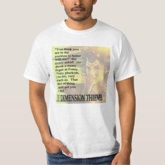 La camiseta gitana de los ladrones de la dimensión