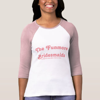 La camiseta Glenmore del béisbol de la dama de