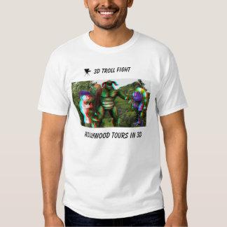la camiseta Hollywood del duende 3D viaja EN 3D
