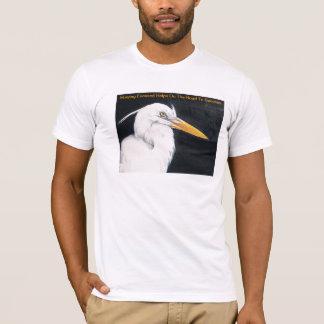 La camiseta inspirada del amante del pájaro