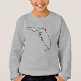 La camiseta Jacksonville del niño casero de la