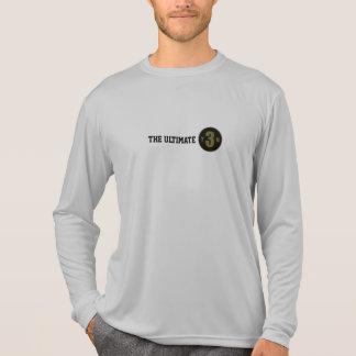 La camiseta larga de la manga últimos 3