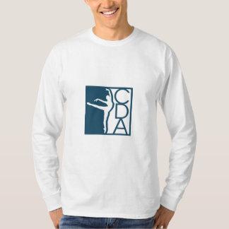 La camiseta Largo-envuelta de los hombres