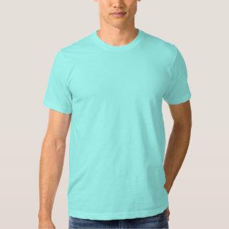 La camiseta ligera llana de American Apparel