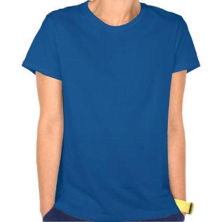La camiseta nana de las mujeres del unicornio,
