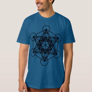 La camiseta orgánica de los hombres del cubo de